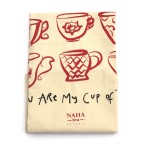 Limited NAHA Tea Towel red